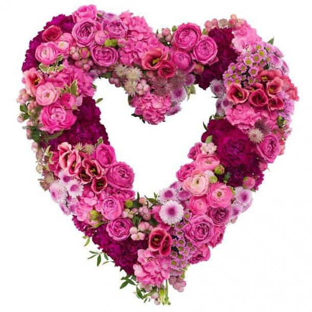 Hjerte - pink hjerte